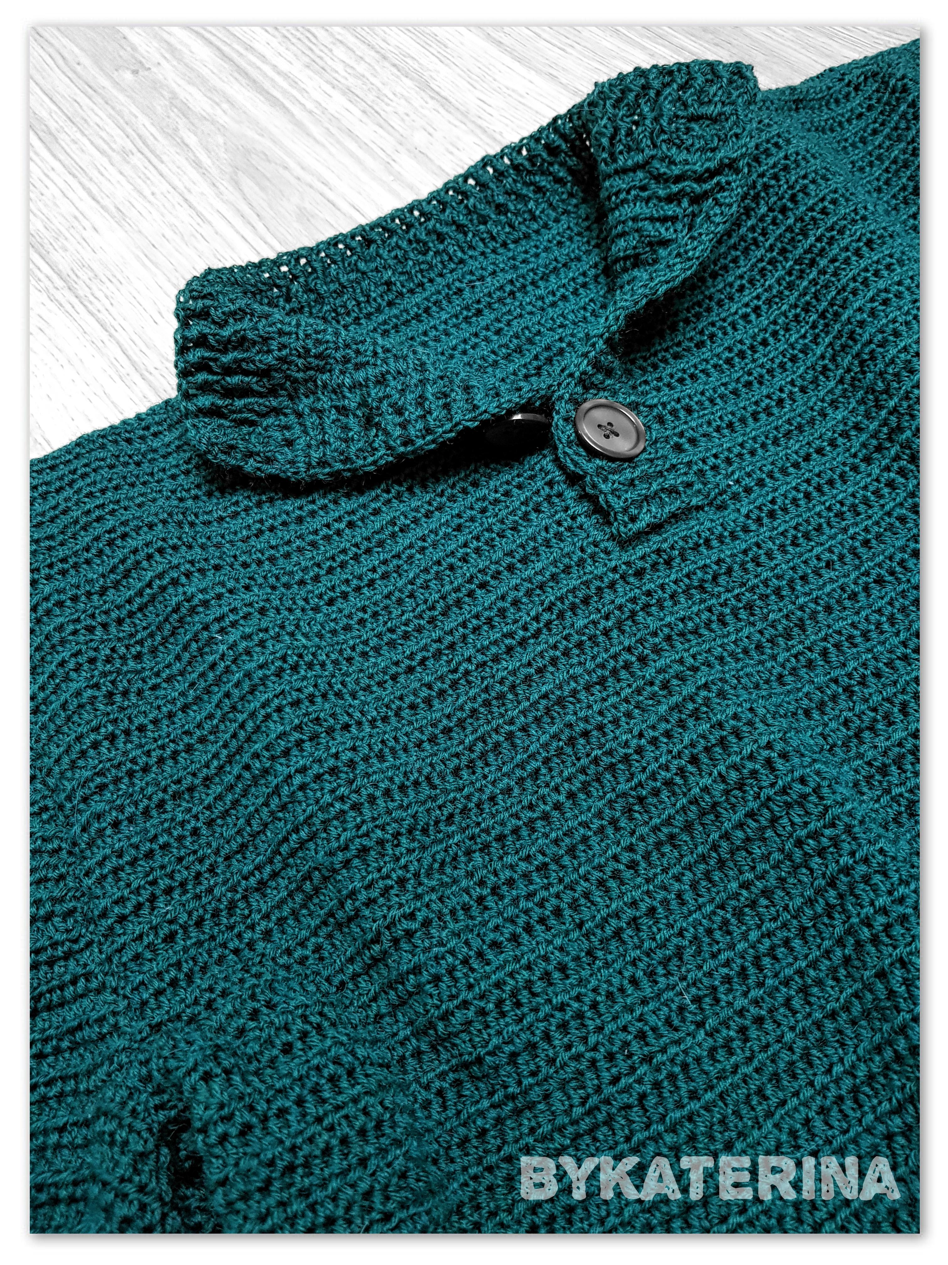 Men Can Also Wear Crochet Men Sweater Bykaterina