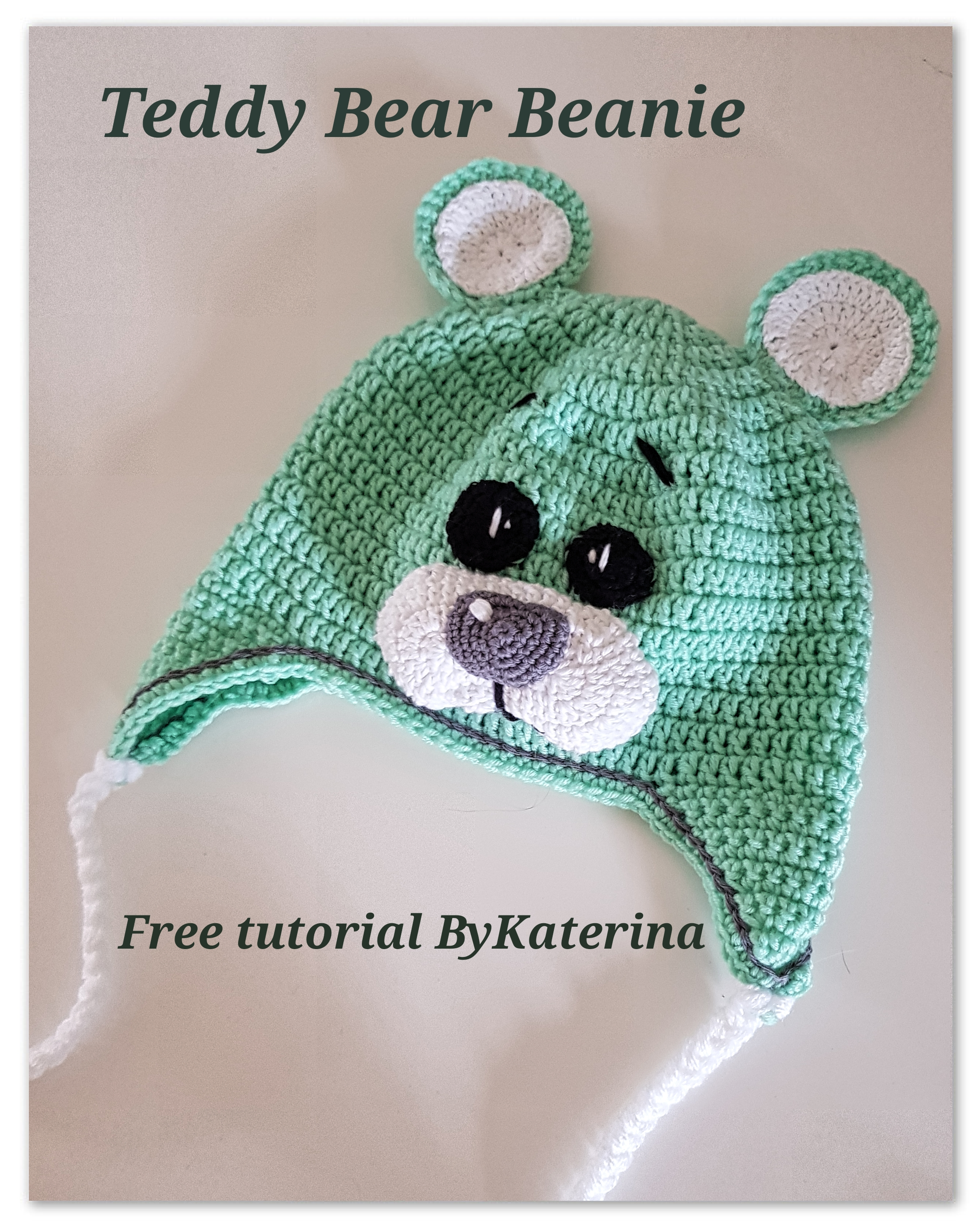 How To Make The Softest Baby Bear Hat Crochet Pattern | 2812x2240