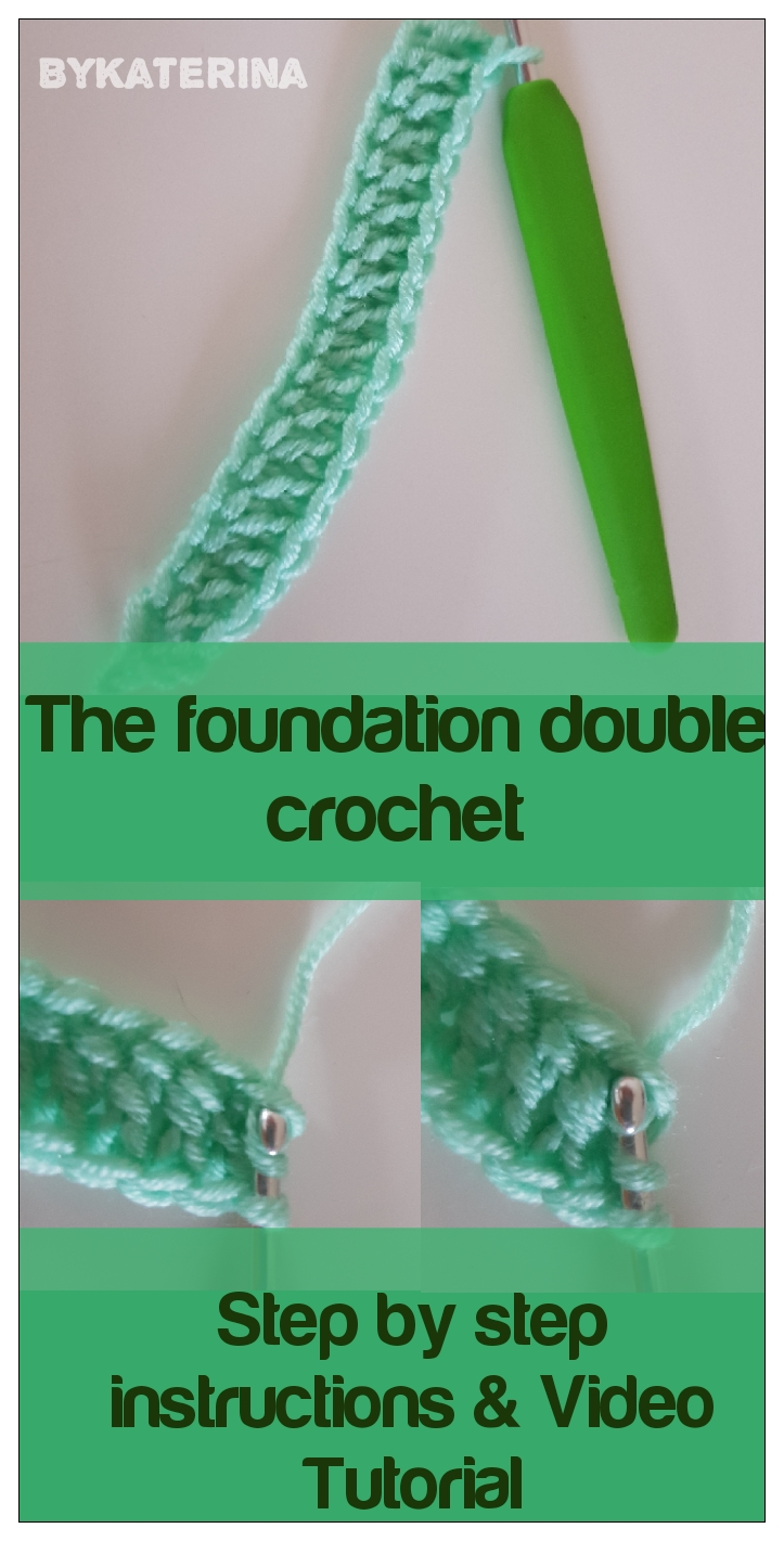 foundation double crochet pin it