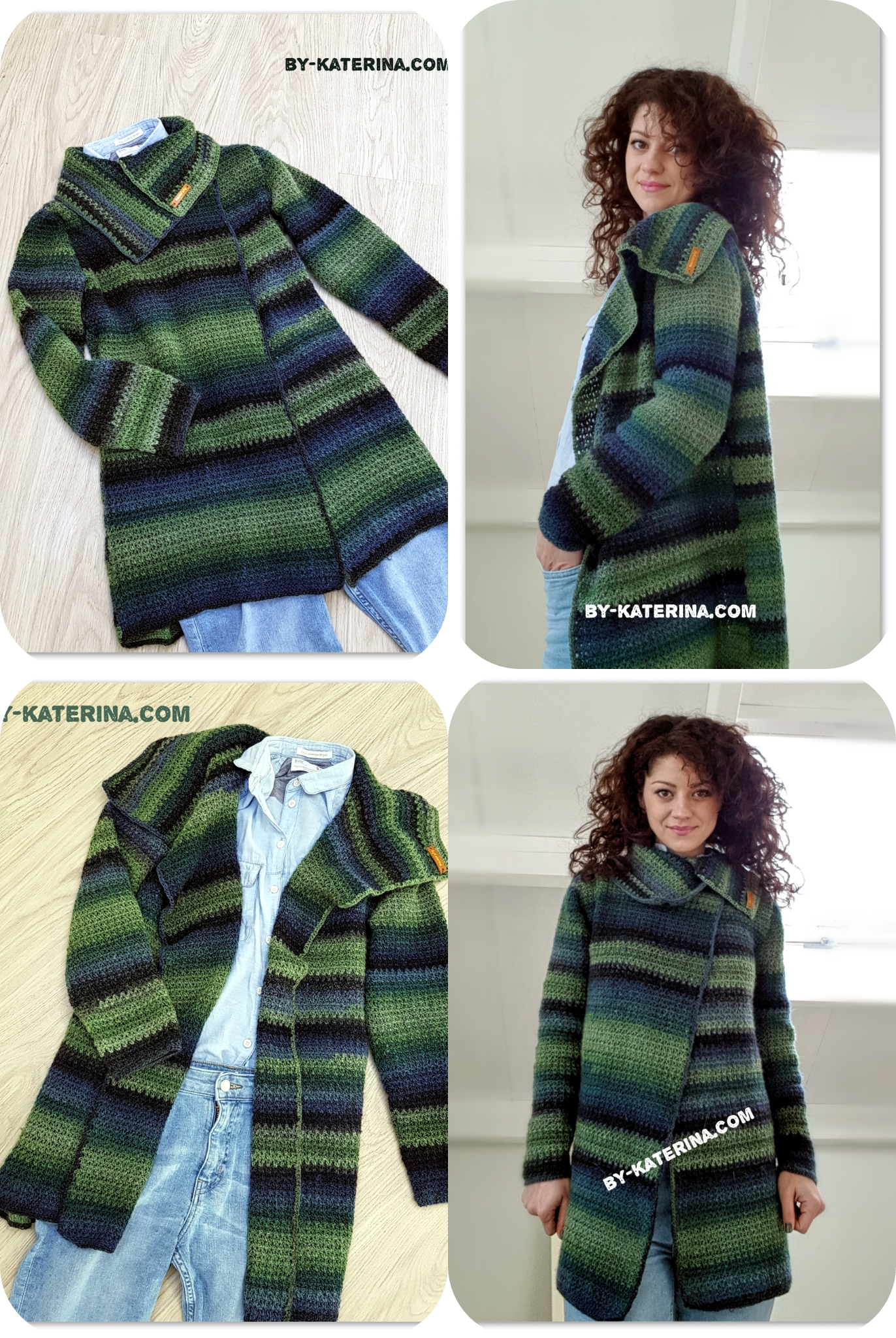 Easy To Wear Cardigan Free Crochet Pattern Bykaterina