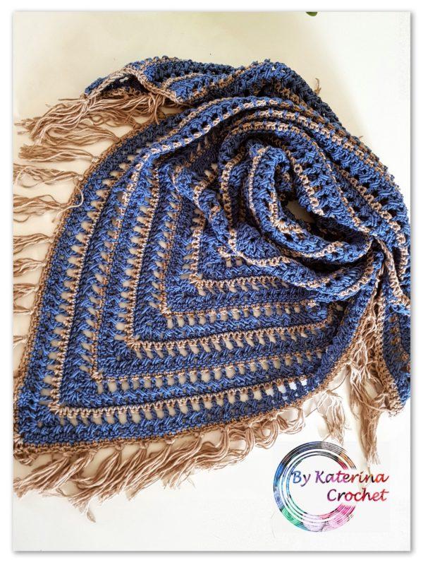 Jeanie triangle scarf