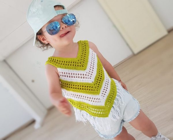 little girl summer top