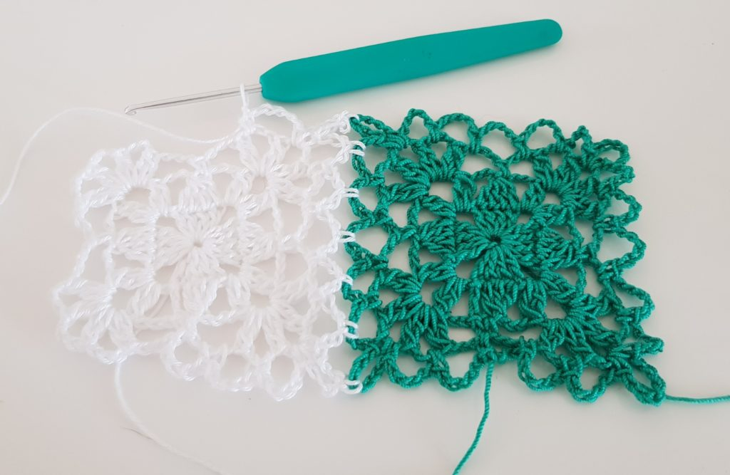 summer granny square join