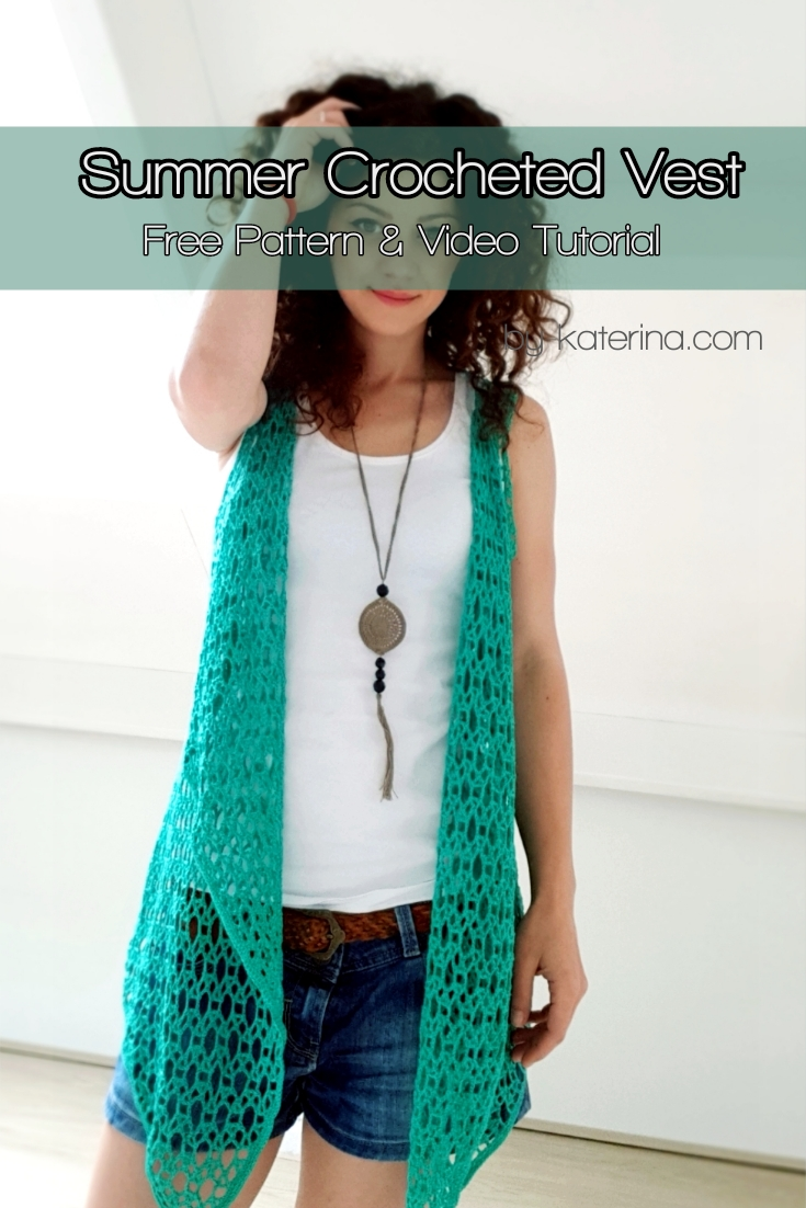 Summer Crocheted Vest Bykaterina