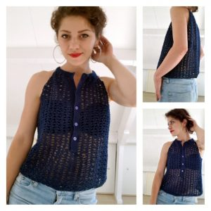 summer crocheted top