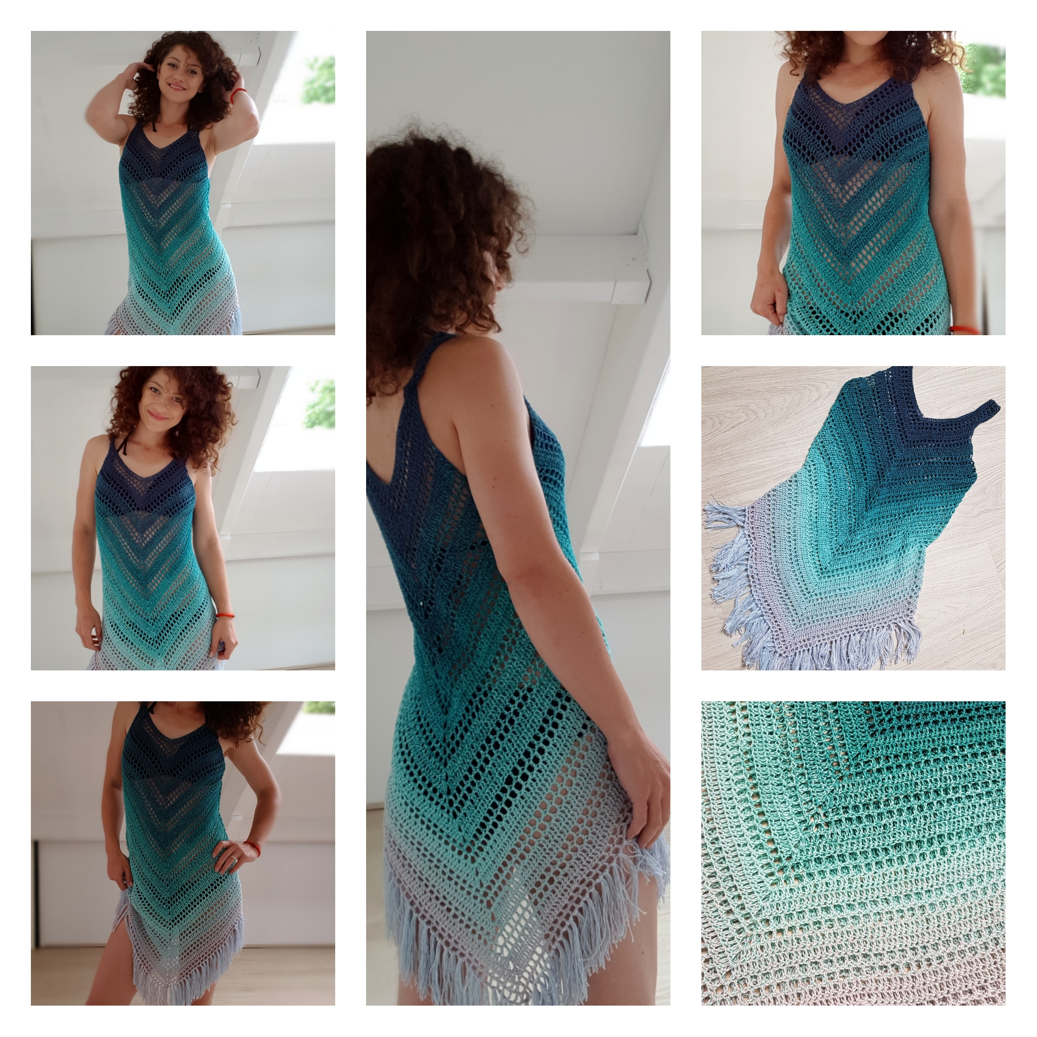 Enjoy Summer Top. Crochet pattern – ByKaterina | 2048x2048