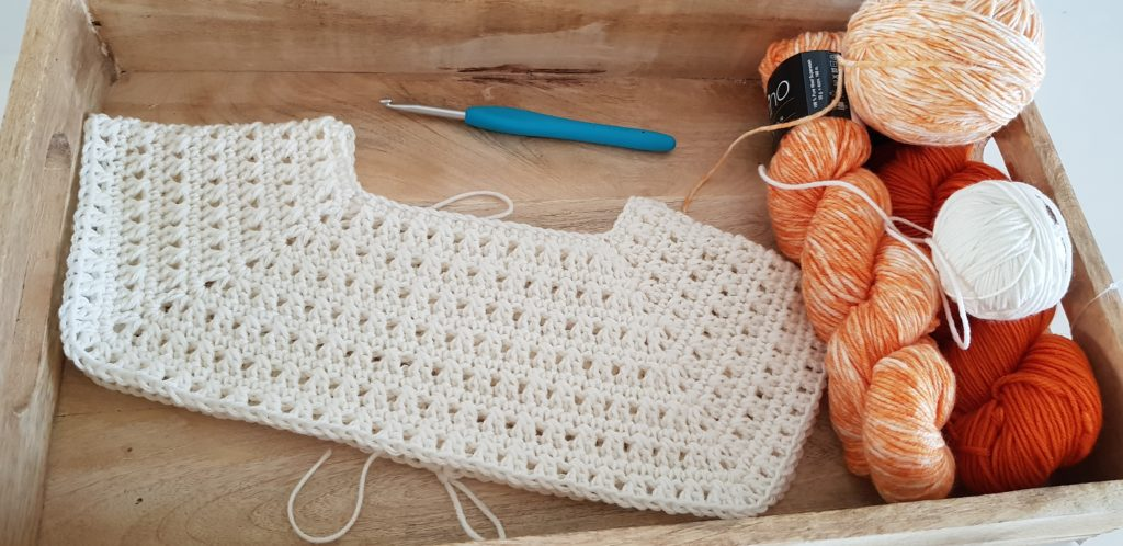 Pumpkin sweater the yoke
