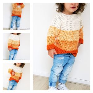 The Pumpkin Sweater Free Pattern and video tutorial
