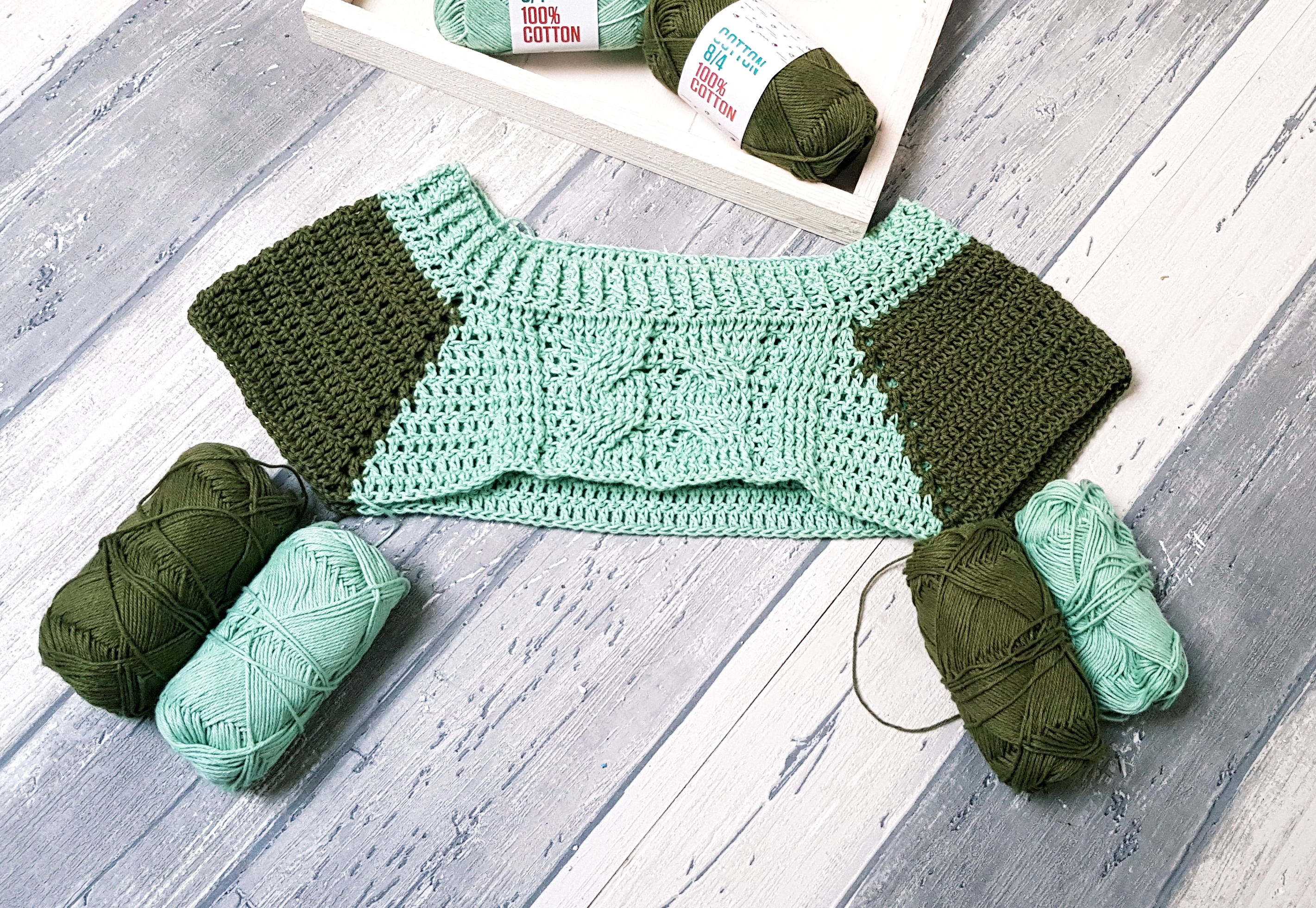 Spring Time Cable Sweater