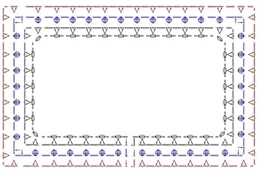 spring buds cropped cardigan stitch chart