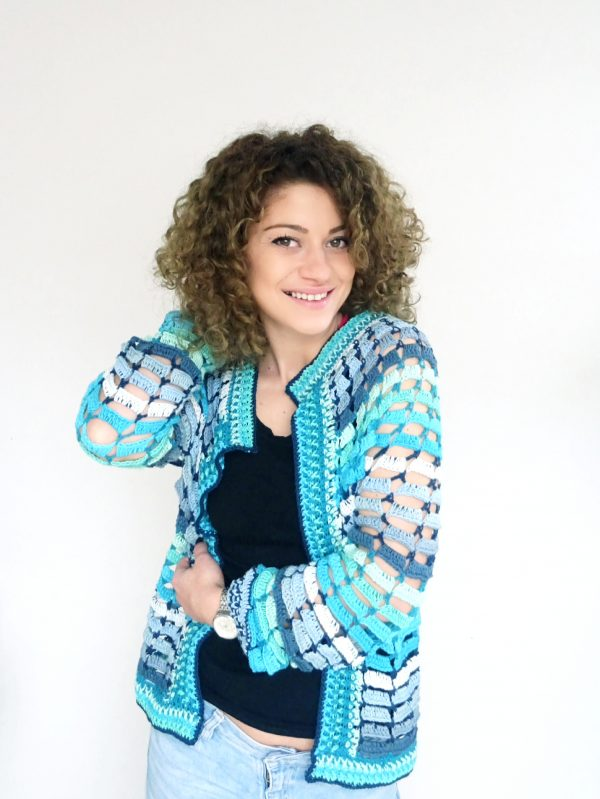 Laguna Cardigan. Free Pattern & Video Tutorial
