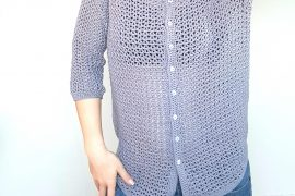 Levanda Shirt. Free Pattern & Tutorial