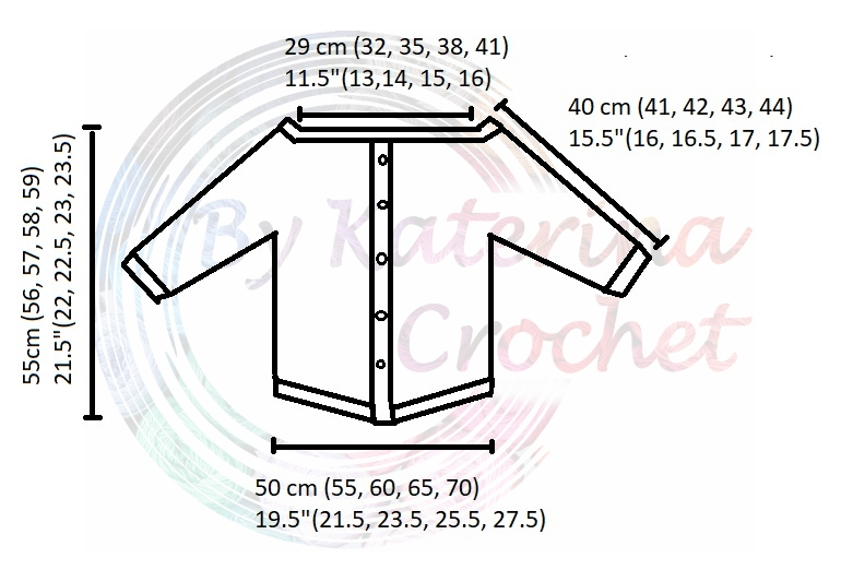 Levanda Shirt Diagram