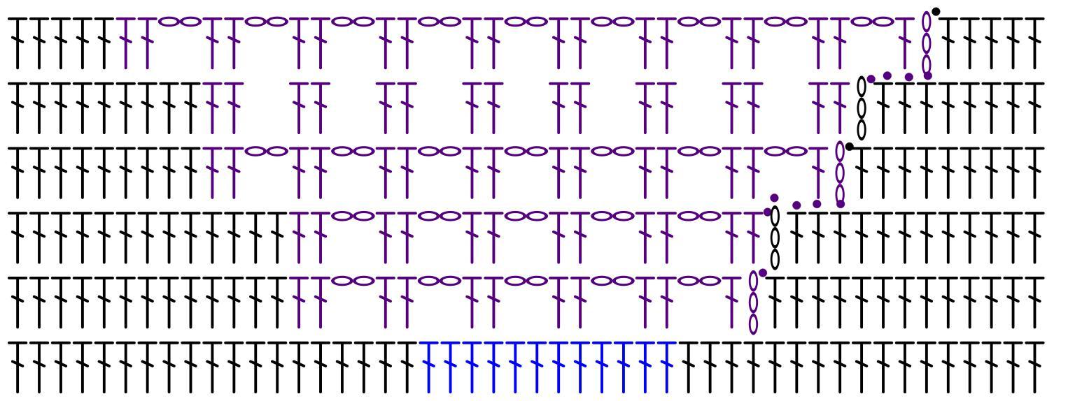 CItyscape Tank stitch chart