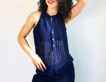 Long Time Dress. Free Crochet Pattern & Video Tutorial