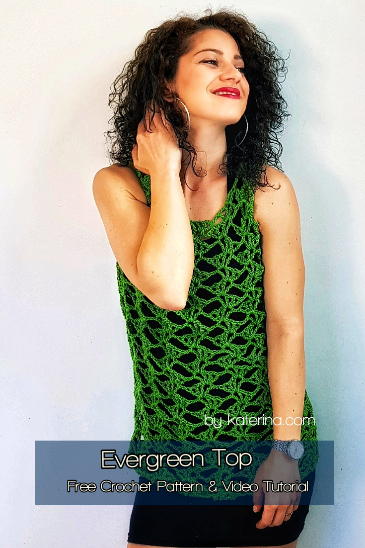 Evergreen Top. Free Pattern & Video Tutorial