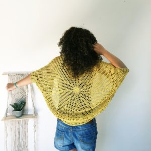Bring Me the Sun Shrug. Free Crochet Pattern & Video Tutorial