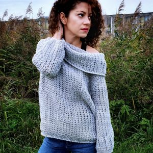 Rainy Cloud Jumper. Free Pattern & Video Tutorial