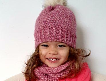 Winter Set. Crochet Pattern. With Beanie & Cowl