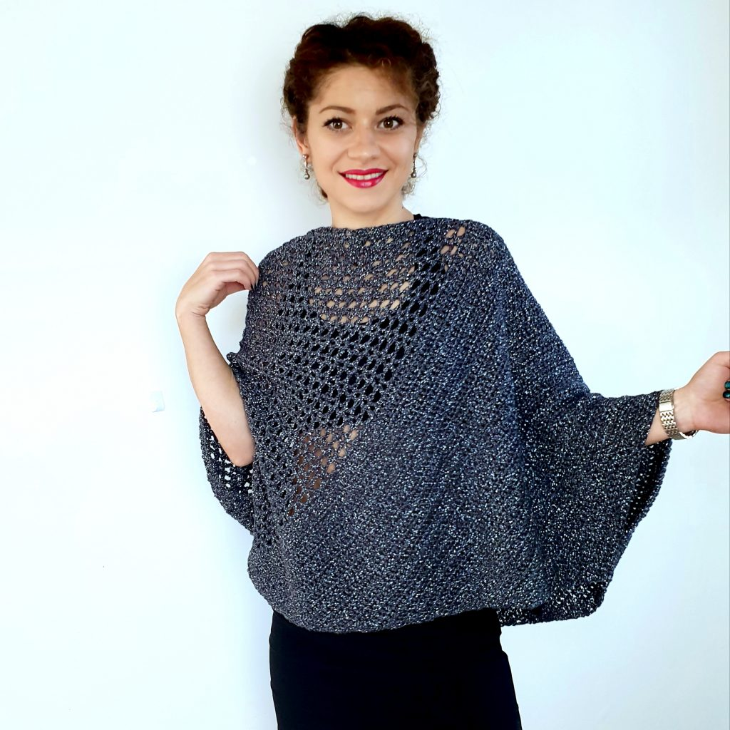 Be Glam Blouse. Free Crochet Pattern and Video Tutorial