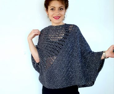 """Be Glam"" Blouse. Crochet Pattern"