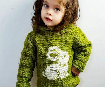 Bunny Sweater Crochet Tutorial