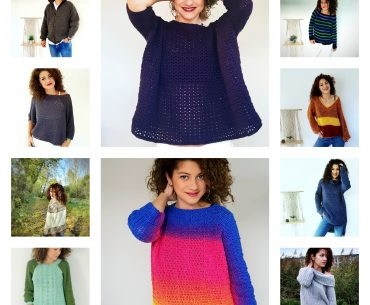 14 Sweater Crochet Patterns you will love