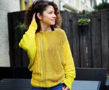 Sunshine Sweater. Knitting Pattern