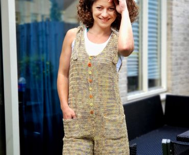 Forever Young Jumpsuit. Crochet Pattern