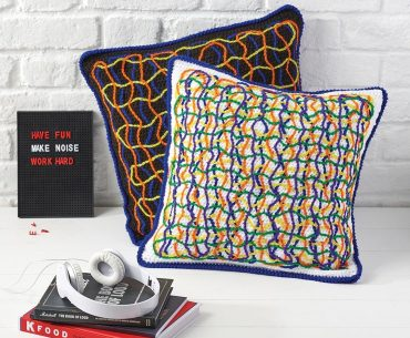 Colors of Chaos Pillow Case