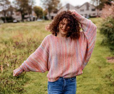 Sunset Sweater. Crochet Pattern