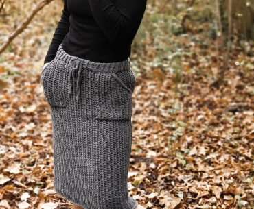 Hobble Skirt. Crochet Pattern