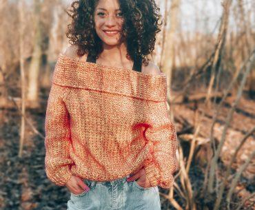 Warm Me Up Sweater. Knitting Pattern