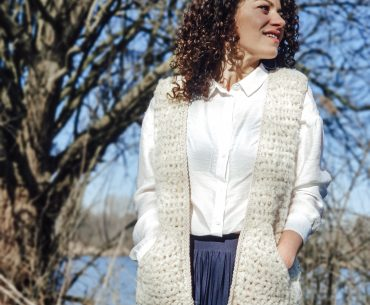 Shepherd Vest. Crochet Tutorial