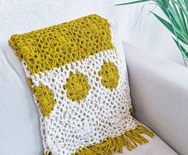 Mornings Blanket. Crochet Pattern