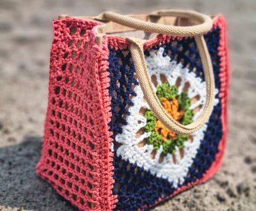 Hessian Bag. Crochet Pattern