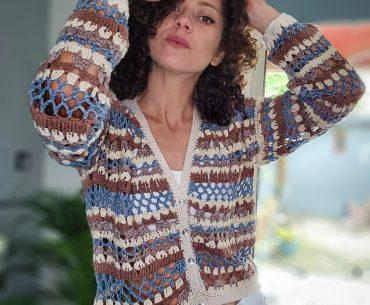 Late Summer Blouse Crochet Pattern